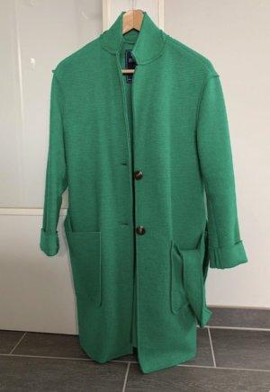 Zuelements grüner Mantel Wollmantel Gr.S