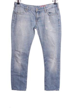 zuelements Straight-Leg Jeans blau Casual-Look