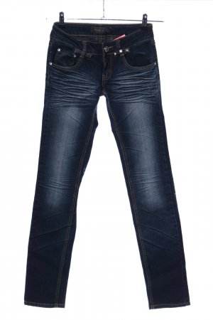 Straight-Leg Jeans blau Casual-Look