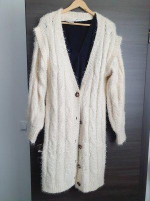 Sofie schnoor Cappotto a maglia bianco sporco