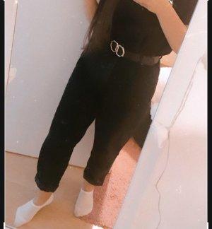 Zara 3/4 Length Trousers black