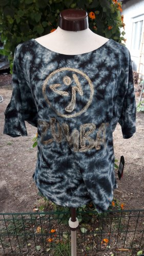 """ZUMBA Fitness """"Forever Wild Cold Shoulder"""" Top"""