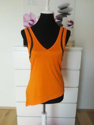 Zumba Fitness Débardeur de sport orange