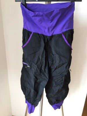 unifit Pantalon de sport noir-violet tissu mixte