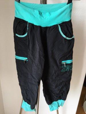 unifit Pantalon de sport noir-bleu clair tissu mixte