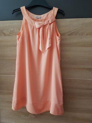 H&M Vestido babydoll albaricoque