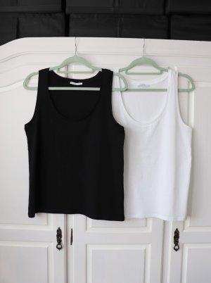 Zwei Basic Tops von Zara Größe M 38