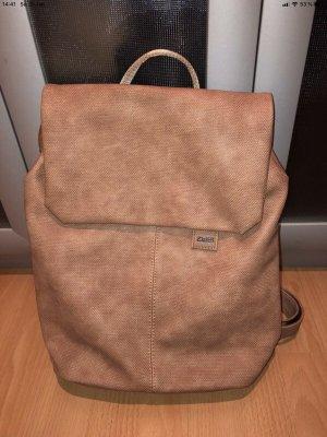 Zwei Backpack Trolley beige