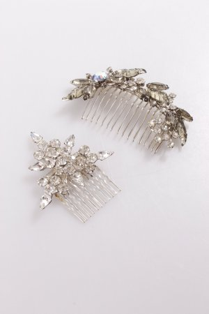 Headdress silver-colored-grey