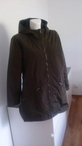 Zalando Between-Seasons Jacket black-khaki