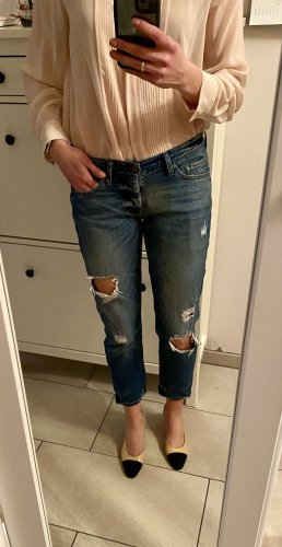 7 For All Mankind Slim jeans staalblauw-blauw