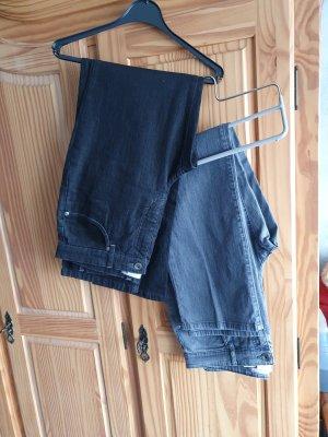 Ascari Jeans elasticizzati nero-grigio