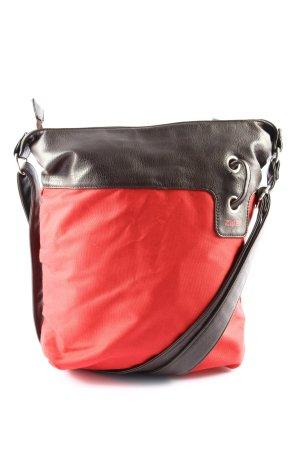 Zwei Shopper rouge-noir style décontracté