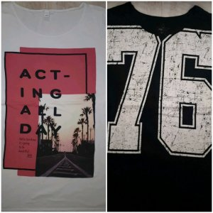 Zwei T-Shirts