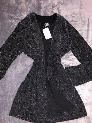 H&M Jersey twin set zwart-wit