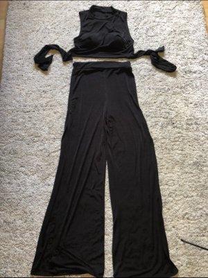 keine Spodnie Marlena czarny