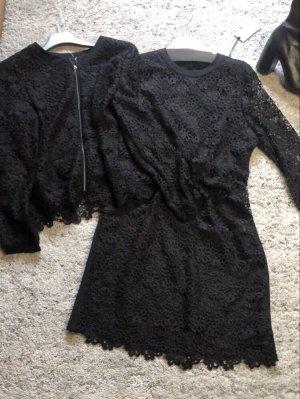 Lecomte Ensemble en tricot noir
