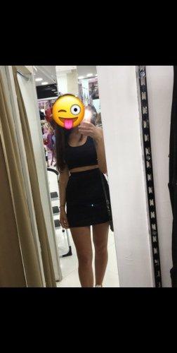 Cut Out Dress black-white