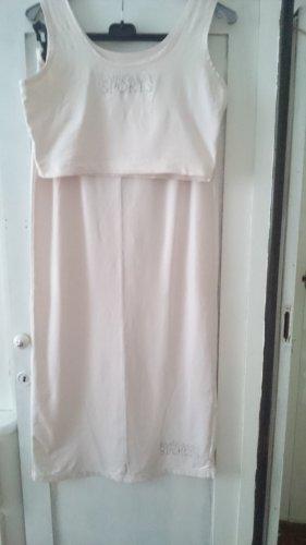 Bandolera Maxi Skirt silver-colored-pink