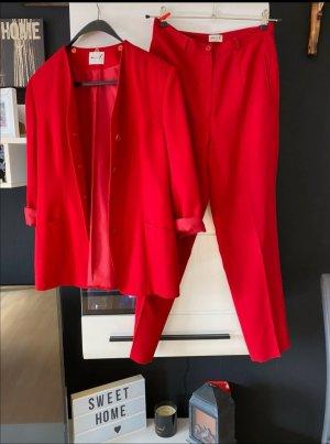 His Pantalón de vestir rojo ladrillo