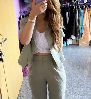 Set Trouser Suit multicolored cotton