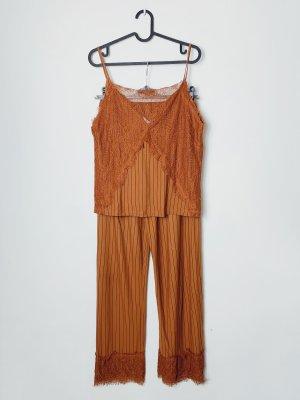 Zara Twin Set tipo suéter naranja oscuro