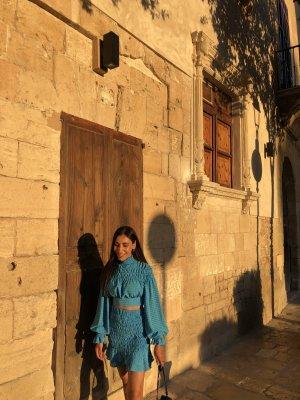 SheIn Miniskirt blue