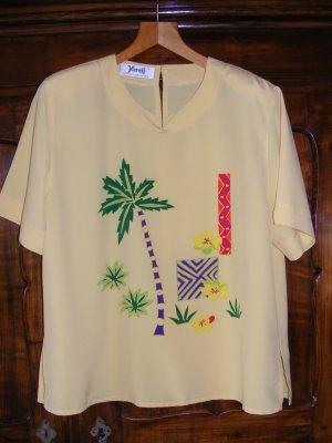 Zweiteiler von Yarell - Shirt mit bunter Hose