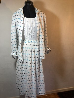 Zweiteiliges Kleid Jacques Fath Vintage