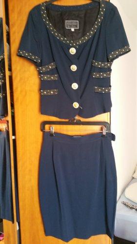 Gianni Versace Tailleur blu scuro