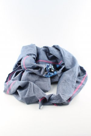 Zwillingsherz Neckerchief blue-pink casual look