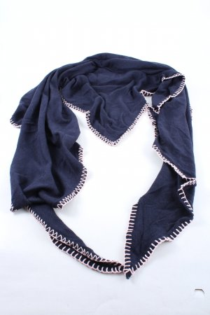 Zwillingsherz Shoulder Scarf blue-natural white casual look