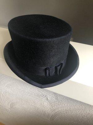 Christys' London Sombrero de copa negro-azul oscuro