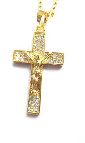 Colgante color oro acero inoxidable