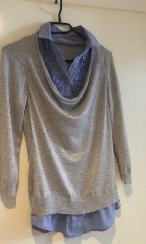 Orsay Sweater met korte mouwen grijs-azuur