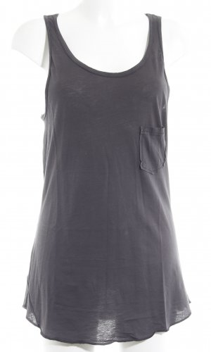 291 Venice Strappy Top anthracite printed lettering athletic style