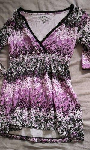 Sweaterjurk lila