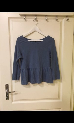 Brave Soul Sweater met korte mouwen blauw