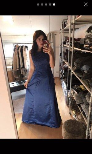Abendkleid blau M 38