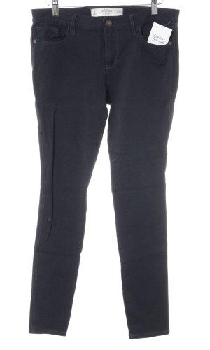 Abercrombie & Fitch Röhrenhose dunkelblau Casual-Look