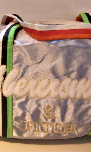 Abercrombie & Fitch Sports Bag multicolored textile fiber