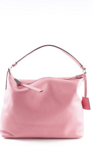 "abro Hobo ""Cervo Leather Hobo Bag Peony"" rosa"