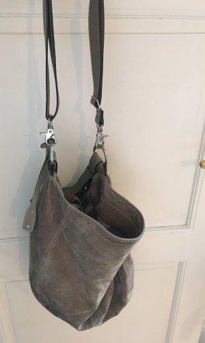abro Comprador gris claro-gris Gamuza