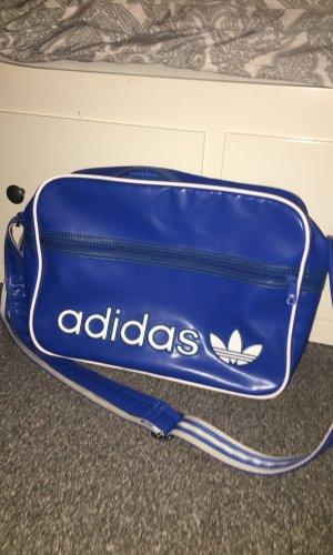 Adidas Sports Bag neon blue-blue
