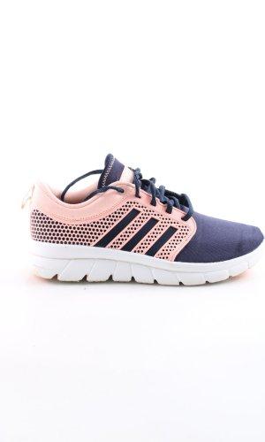 Adidas Schnürsneaker blau-pink sportlicher Stil