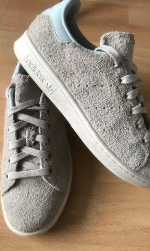 Adidas Stan Smith Sneaker Wildleder grau gr 37