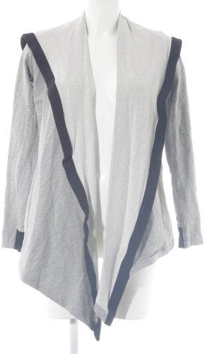 Adidas Veste sweat gris clair-noir style décontracté