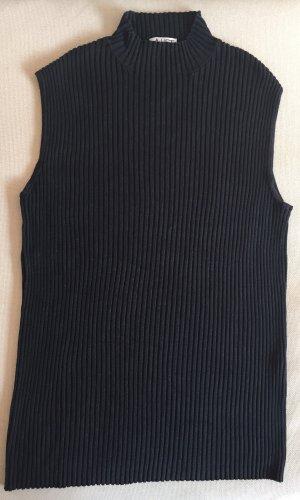 Ärmelloser Pullover aus Seide