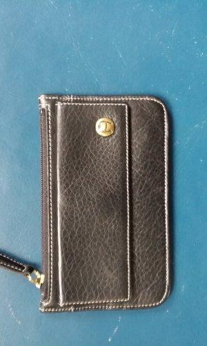 Aigner Key Case black leather