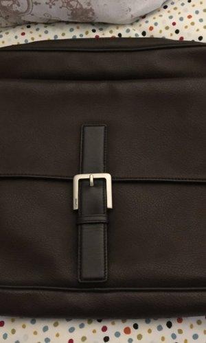 Esprit Laptoptas zwart bruin